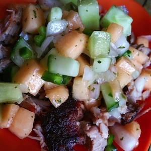 Cucumber Melon Pork