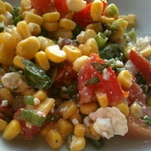 Summer Corn and Tomato Salad